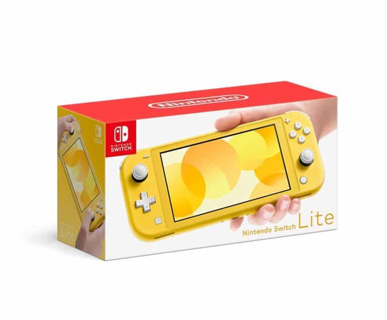 gift for gamer: nintendo switch lite