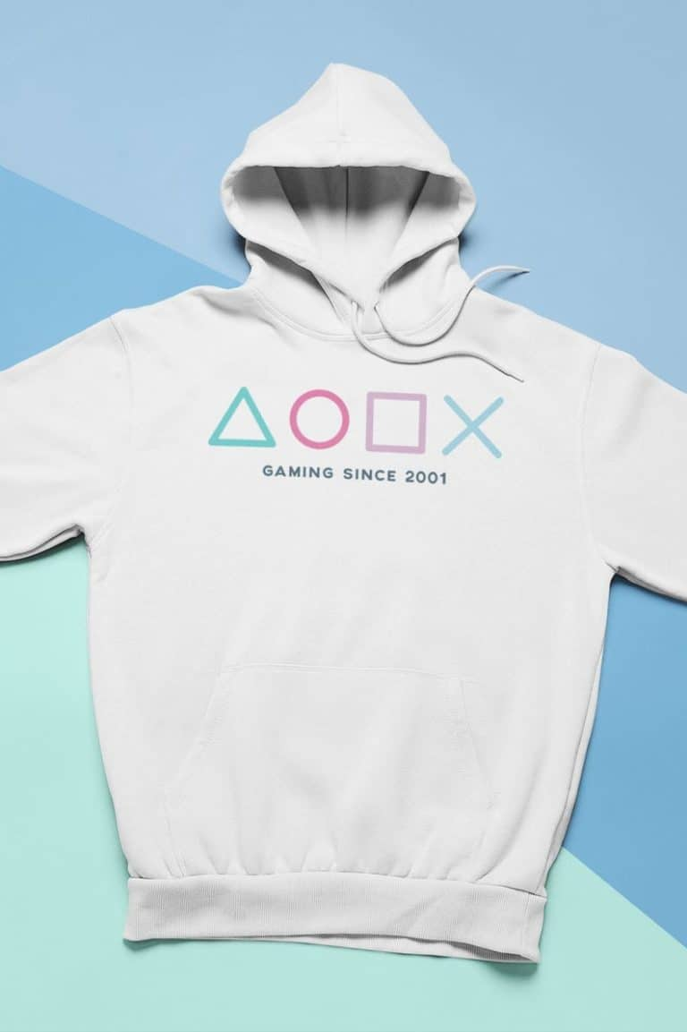 gamers gift: personalized hoodie