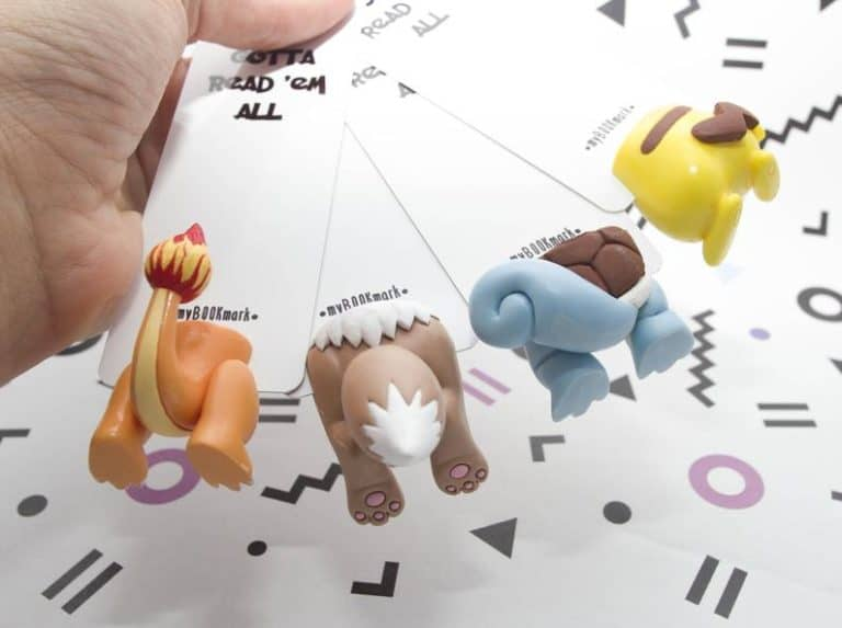 geeky gifts: pokemon bookmarks