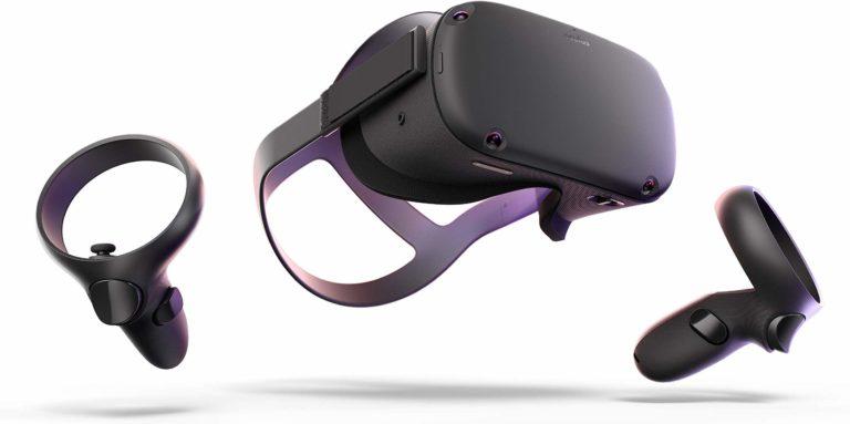 top nerd gear: oculus quest VR gear