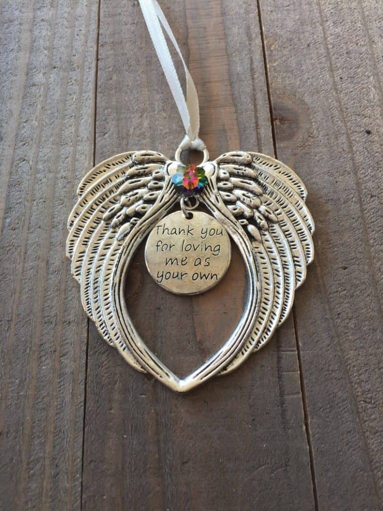 ornament for step mom - christmas gifts for step moms
