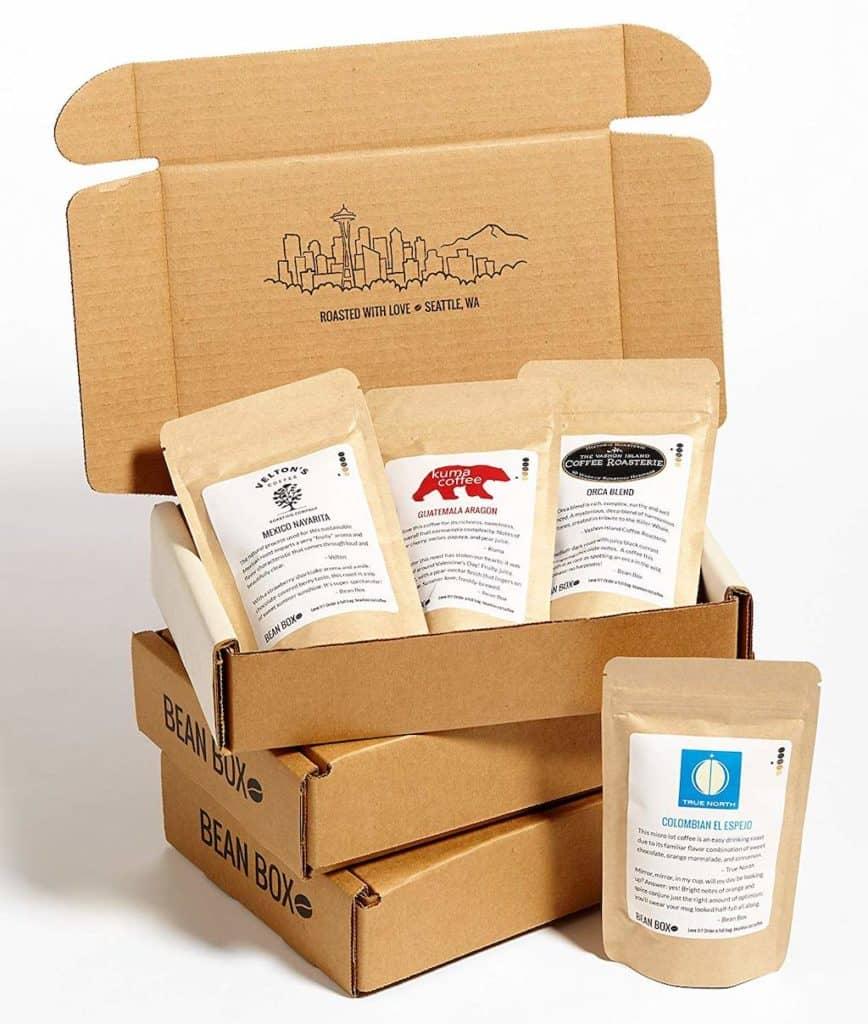 Bean Box Coffee Sampler - Coffee Gift Subscription