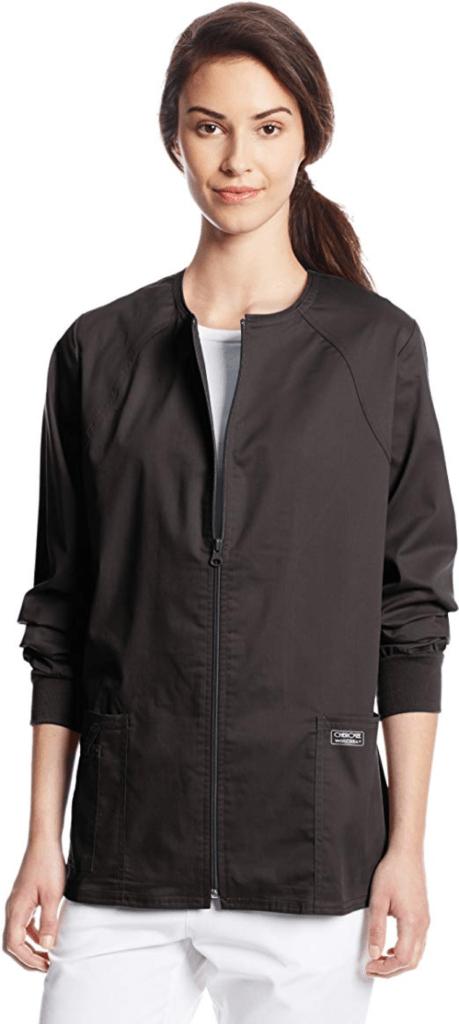 Cherokee Warm Up Scrubs Jacket For Female Nurses