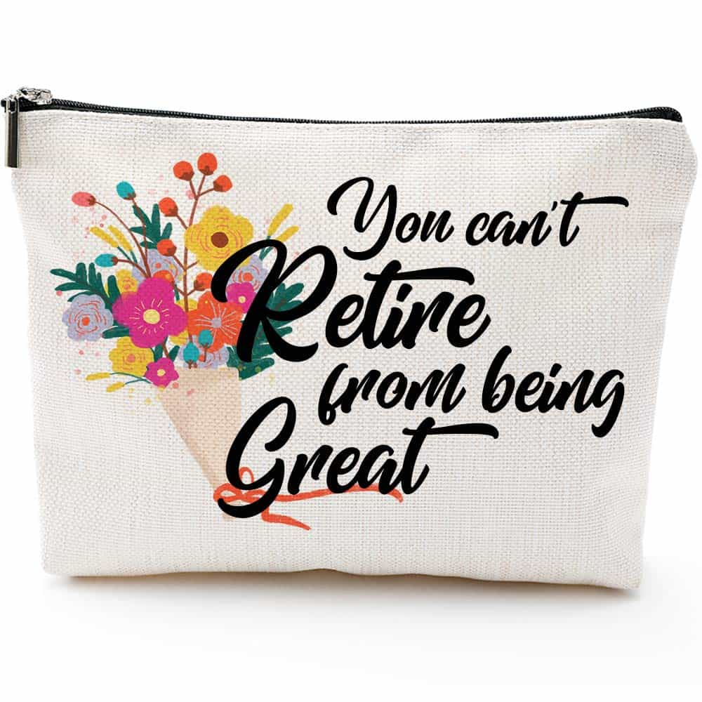 Funny Retirement Make Up Bag As A Gift for Female Teachers