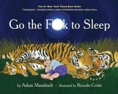 Go The Fck To Sleep Book - Unique Father's Day Gift For New Dad