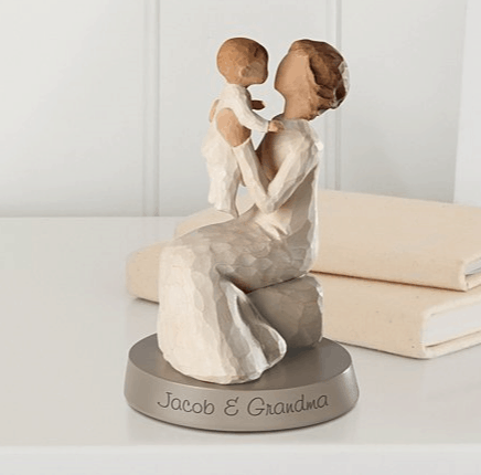 grandmother figurine
