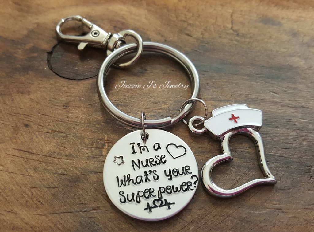 Nurse Keychain With A Funny Quote - Gifts For RN or LPN Graduates