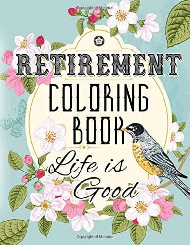 Retirement Coloring Book - Happy Retirement Gift To Teachers