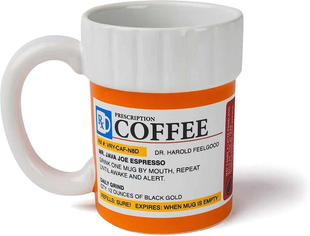 The Prescription Coffee Mug - Gifts For Nursing Staff