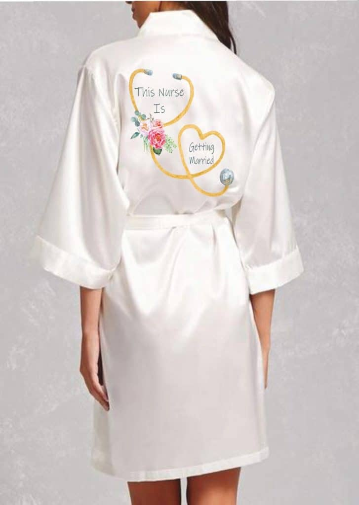 This Nurse Is Getting Married Robe - Gifts For Nurses Getting Married