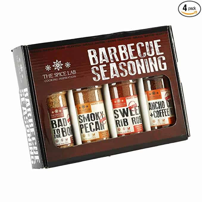 gifts for husband: barbecue seasoning set