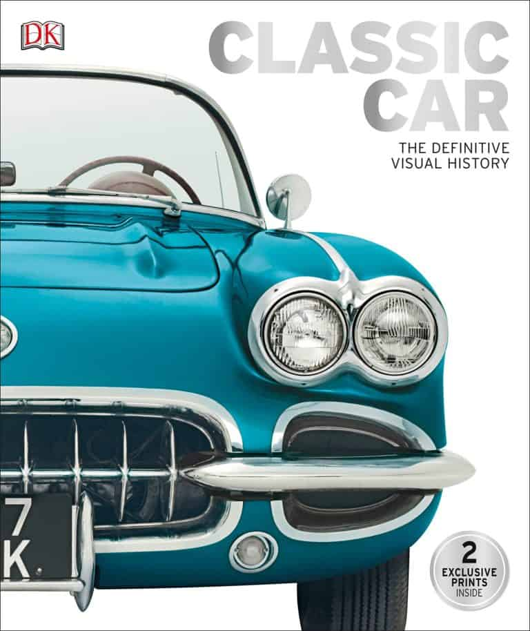 unique gift for grandpa: classic car book