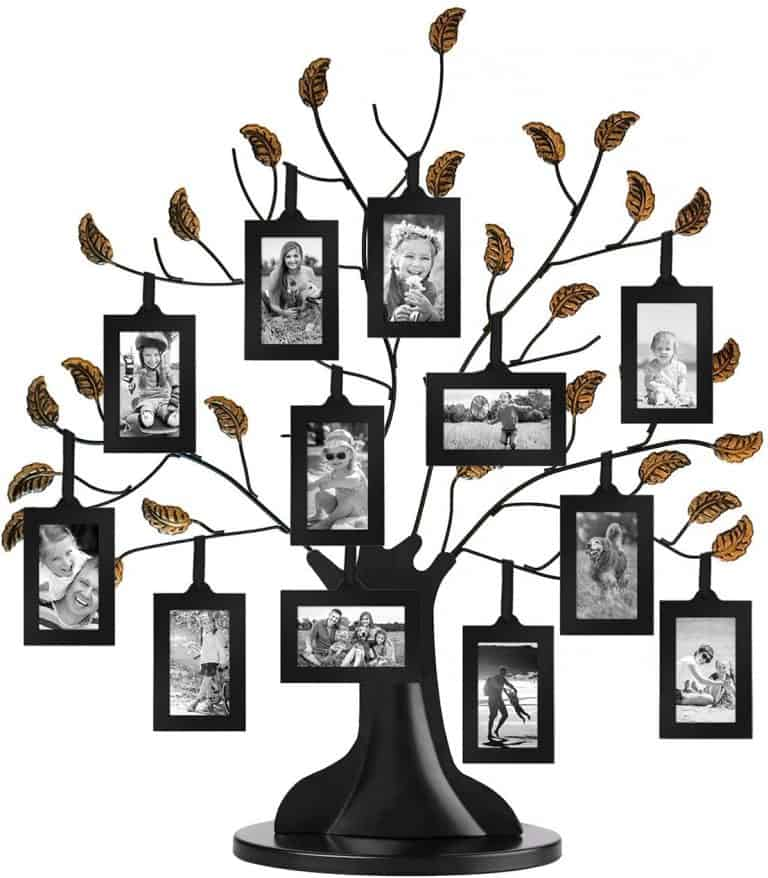 grandma gift idea: family tree photo frames