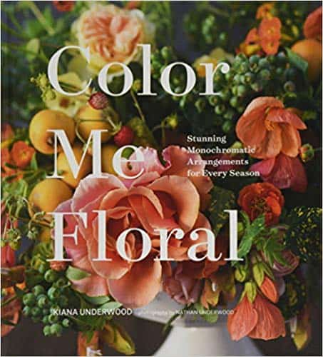 cheap birthday presents for mom: floral design book