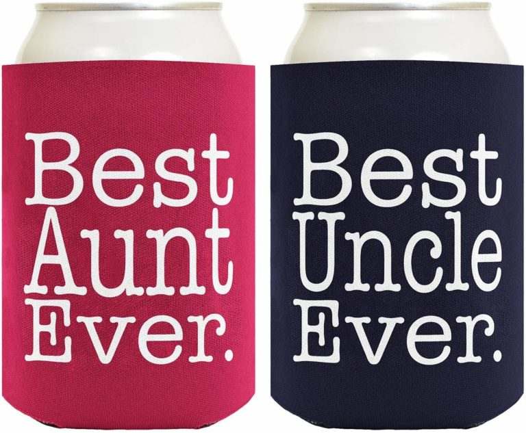 aunt to be gifts - coolers drink coolers