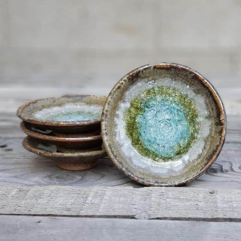 aunt to be gifts - geode ring dish