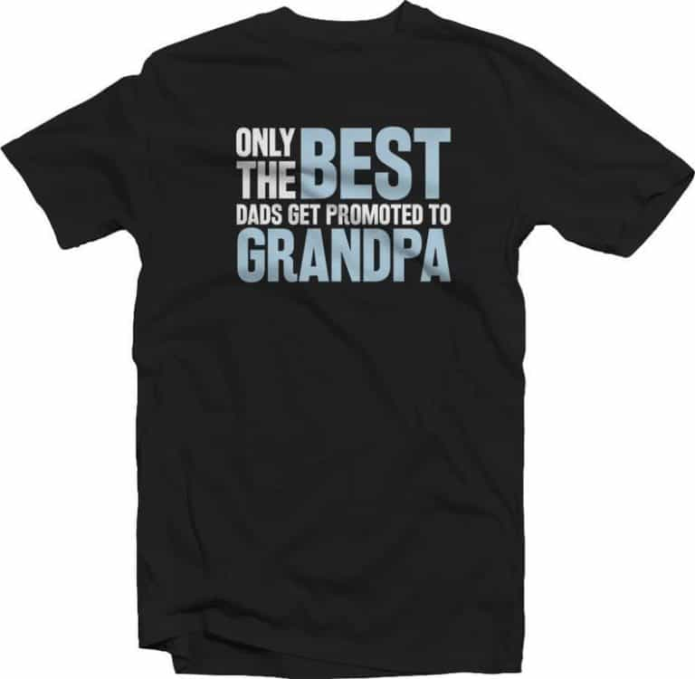 tshirt - great grandpa gift