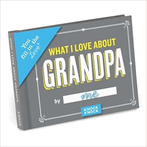 fill in love journal - gifts for grandfathers
