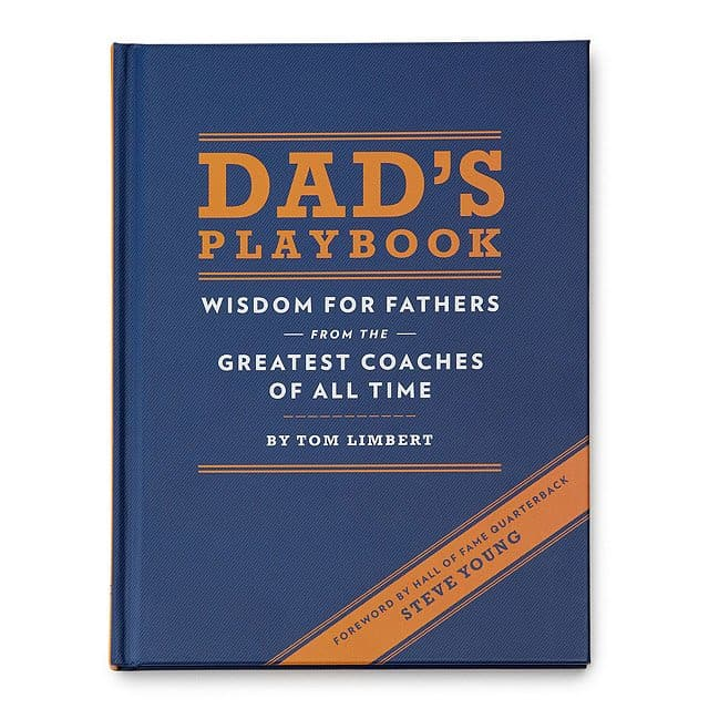 gift idea for a new dad: dad's playbook