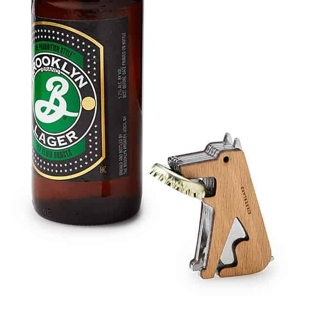 gift for husband who is also a beer lover: go fetch magnetic bottle opener
