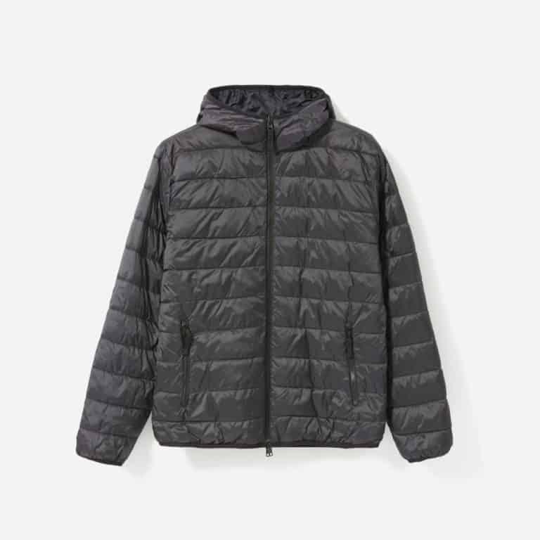 christmas gift for husband: hooded puffer coat