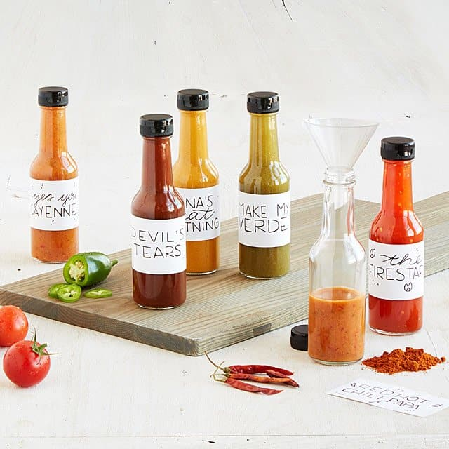great gifts for husband: make your own hot sauce kit