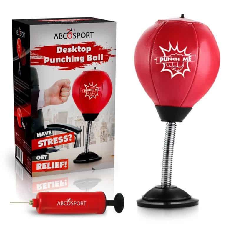 practical gift for him: desktop punching ball