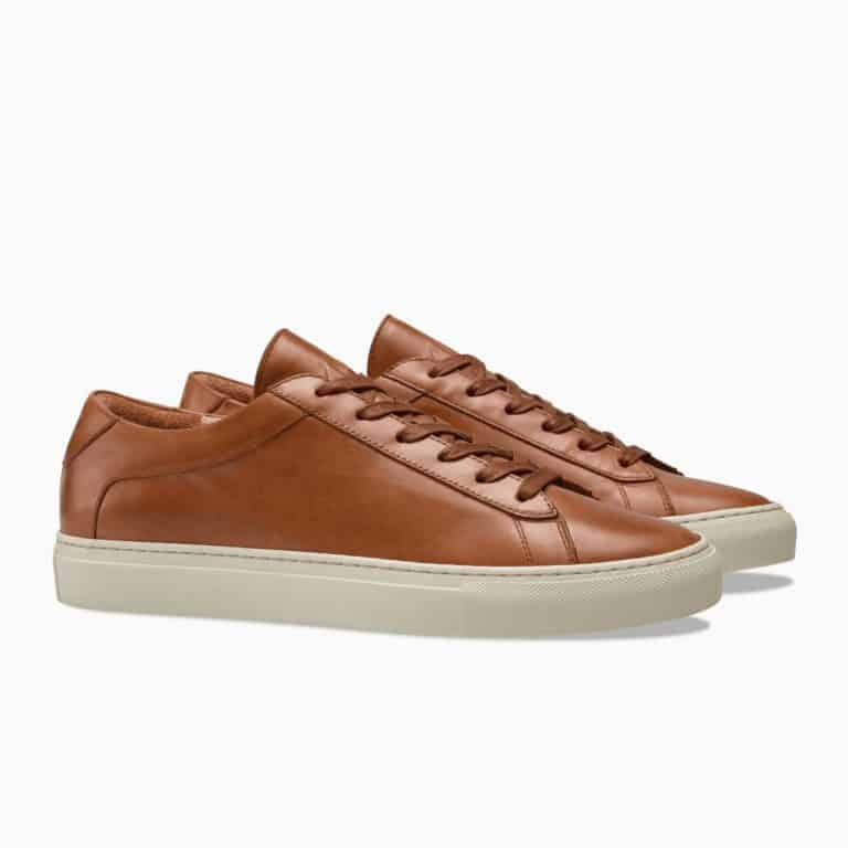 gift idea for husband: leather sneakers