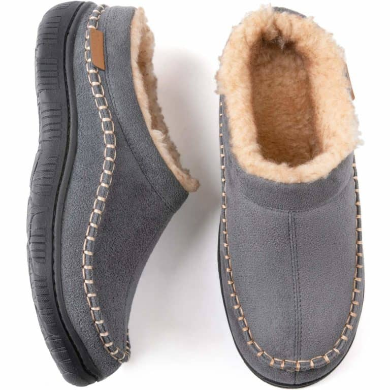 birthday gifts for him: moccasin style slippers