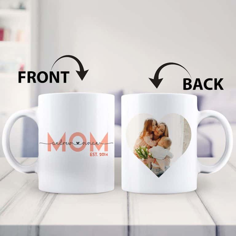 personalized gifts: mom custom mug gift
