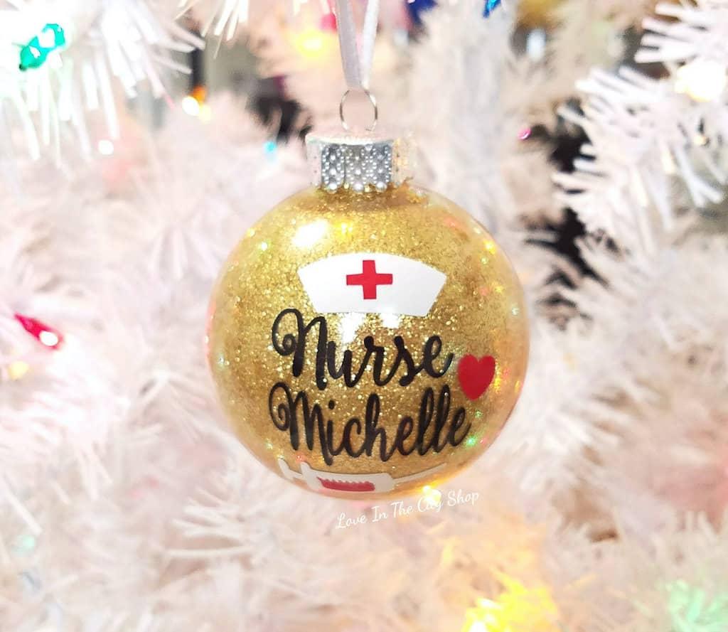 nurse Christmas ornament - Christmas Gift For Nurses