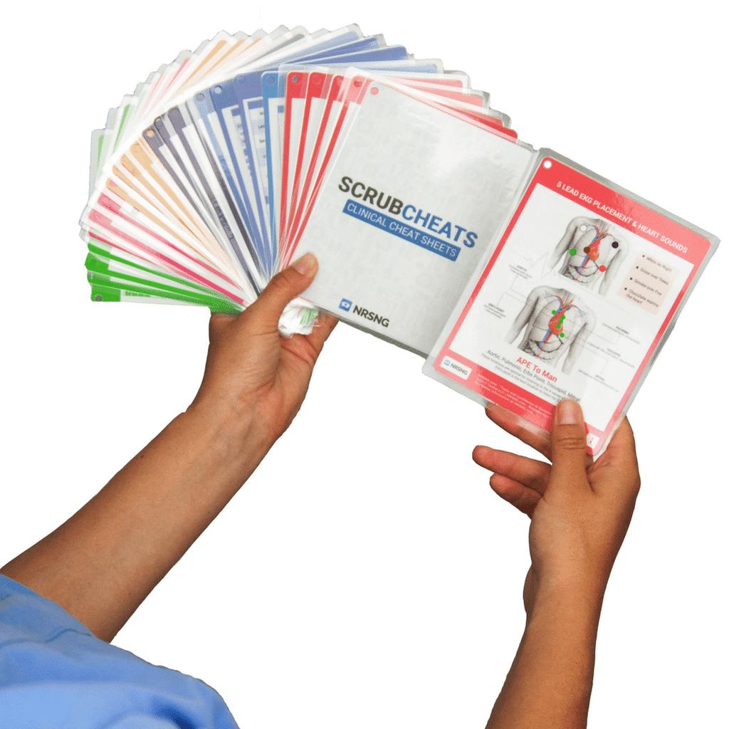 scrubcheats by NRSNG - Nursing Tool Gifts