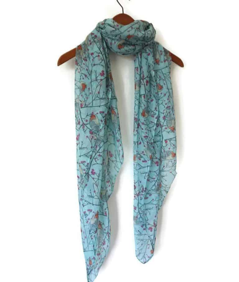 affordable mother's day gifts: spring summer scarf