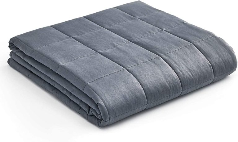 thoughtful gift for grandpa: weighted blanket