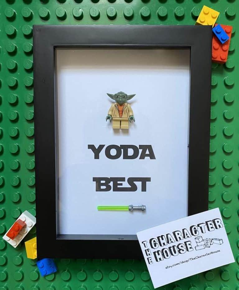 star wars gift for him: yoda best frame