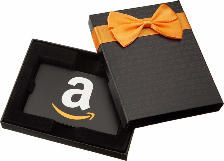 ideal housewarming gifts for men: Amazon.com Gift Card in a Black Gift Box
