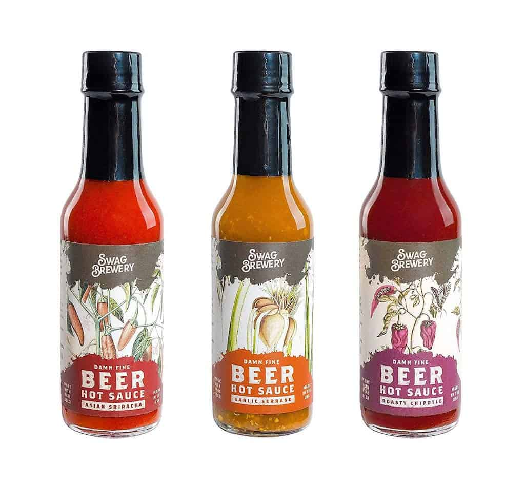 Beer-infused Hot Sauce - Unique Gift For Brother's Man Cave