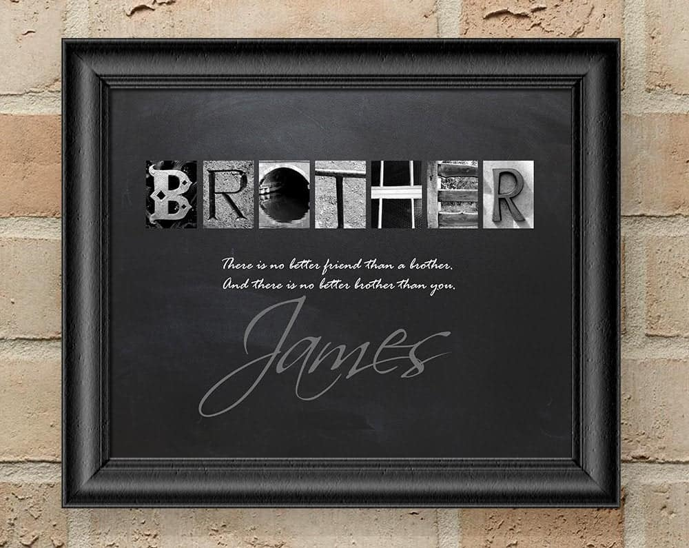 Brother Letter Art Print
