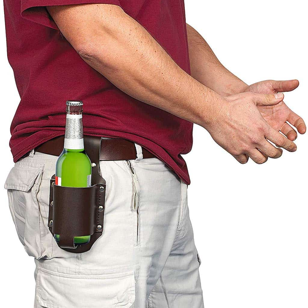 Classic Beer Holster - Funny Gifts For Brother
