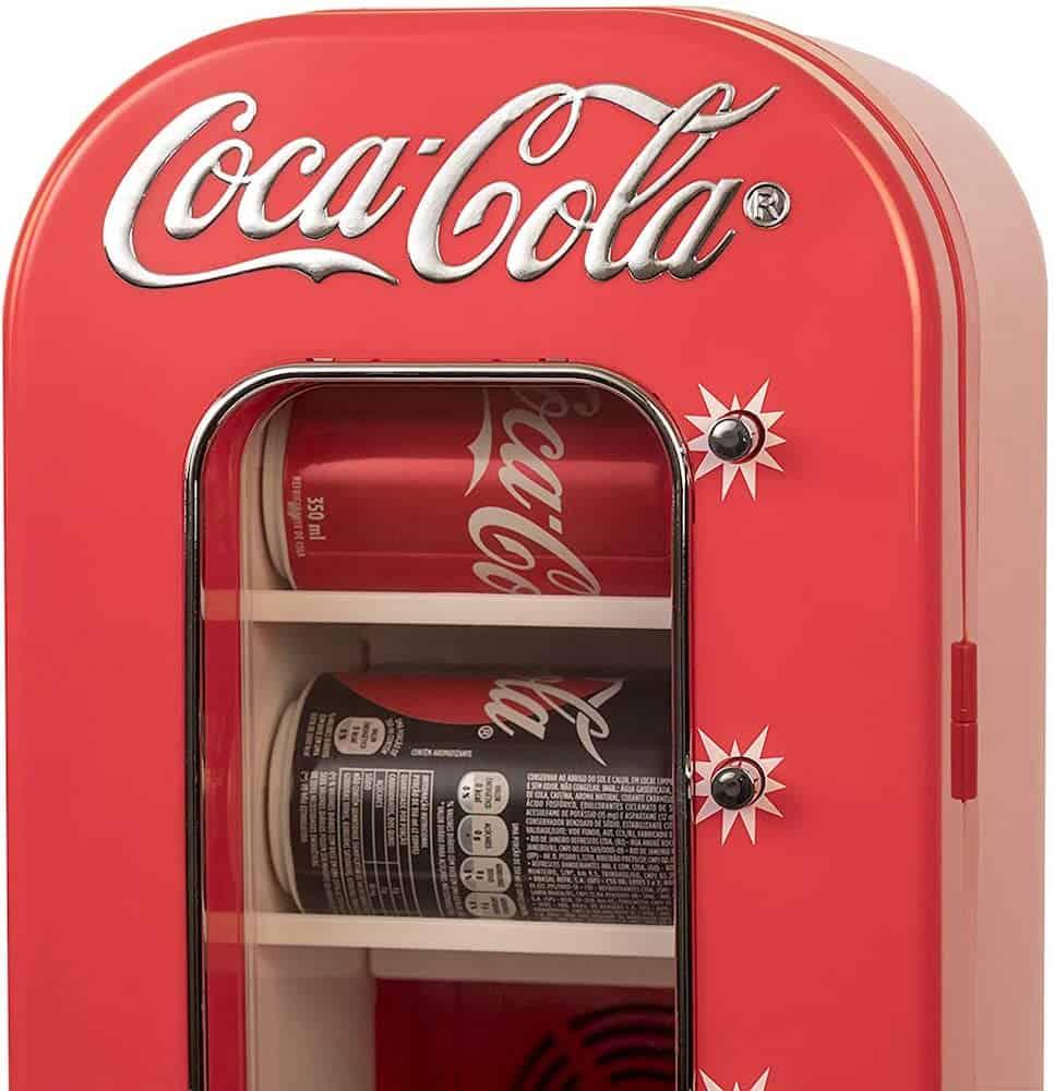Coca-Cola AC/DC Retro Vending Electric Cooler