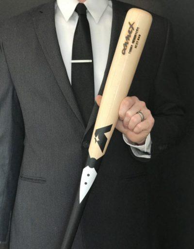 Engraved Baseball Bat For Best Man