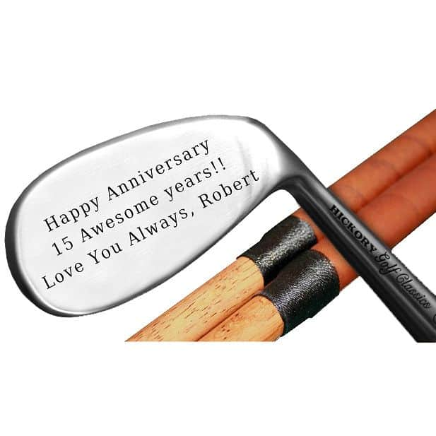 Engraved Classic Hickory Niblick Club