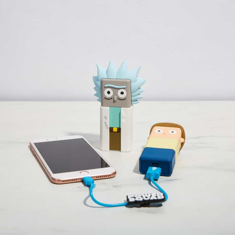 Firebox Rick and Morty Powerbanks For A Tech Brother