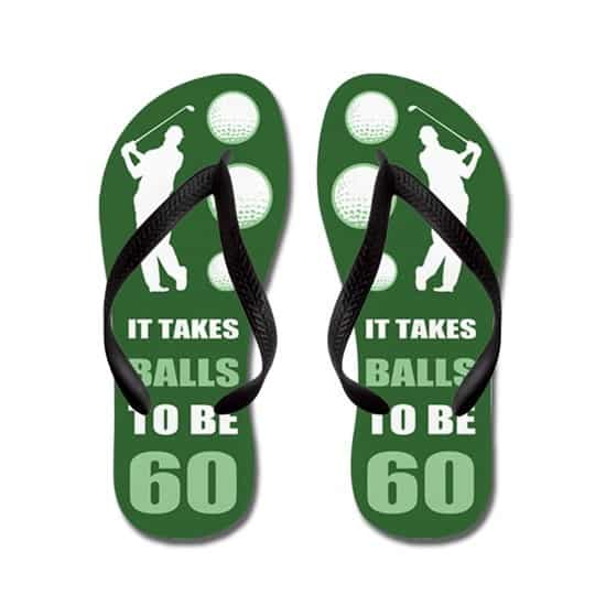 great gifts for golfers: flip flops