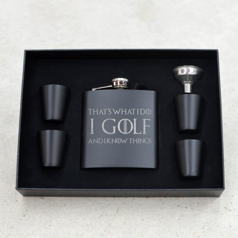 Funny Golf Flask