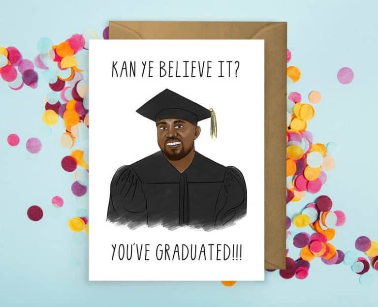 best gifts for college students: Funny Graduation Card