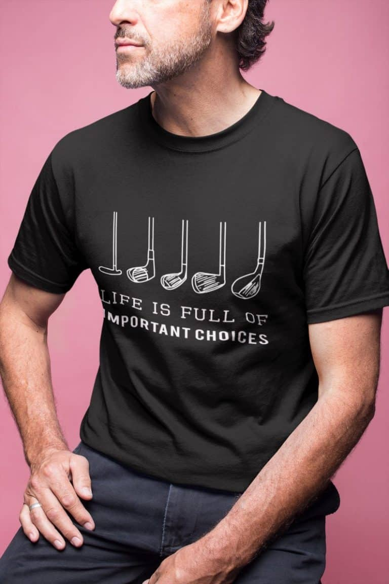 golf gifts for dad: gof gift shirt