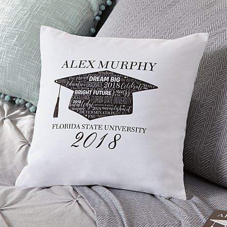 graduation gifts for college students:Graduation Throw Pillow