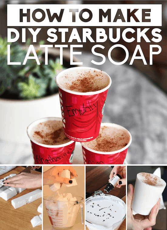 Handmade Starbucks Latte Soap
