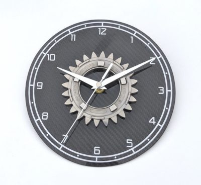 Honda F1 Up-cycled Clock - Thank You gift For Best Man